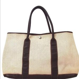 Authentic HERMES Garden Party PM Handbag